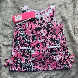 🌺NWT Lilly Pulitzer Hangin With My Boo Baby Shift